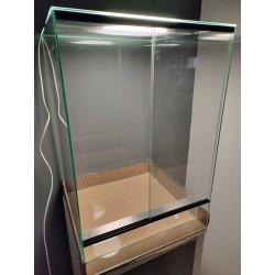 Terrario cristal 40 x 40 x 60